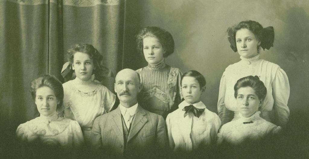 Pulliams circa 1908